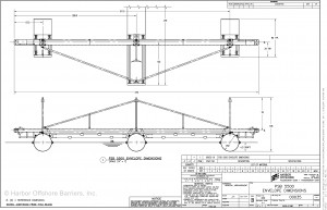 Harbor Offshore Barriers' PSB 5500 schematic