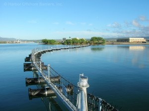 PSB-T floating waterside perimeter barrier